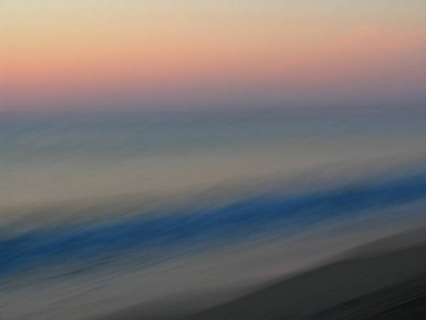 Abstract Poster featuring the photograph Abstract Seascape 1 by Juergen Roth