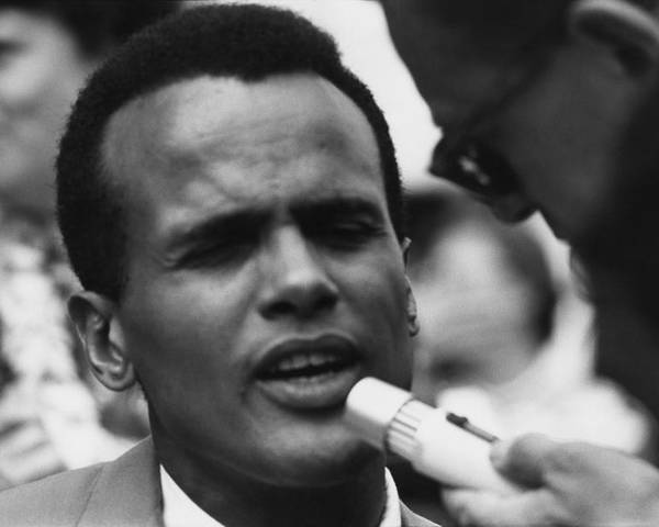 History Poster featuring the photograph Actor And Singer Harry Belafonte by Everett