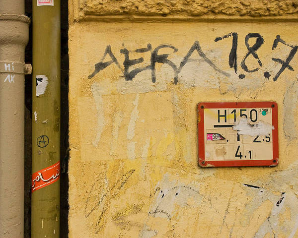 Urban Poster featuring the photograph Aera 787 by Art Ferrier