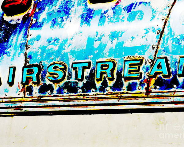 Metal Poster featuring the photograph Airstream by Newel Hunter