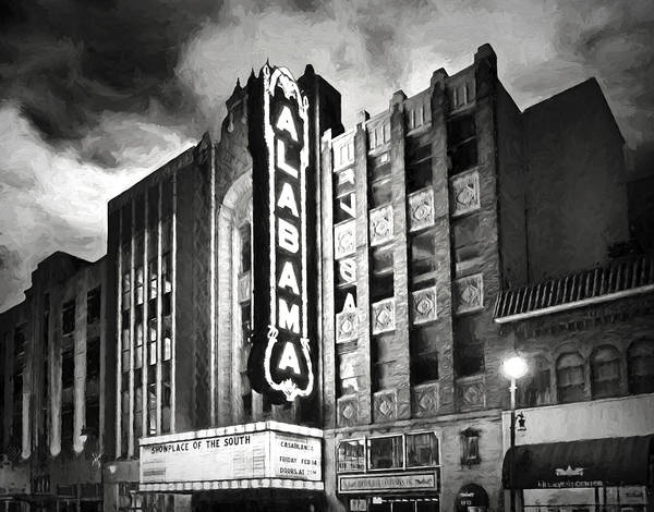 Alabama Theater Poster featuring the photograph Alabama by Steven Michael