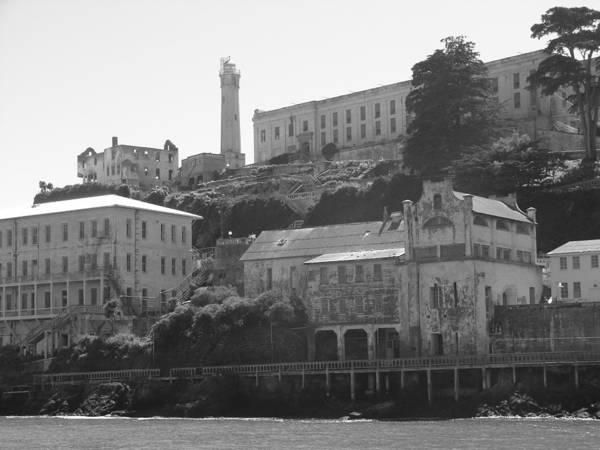 Landscape Poster featuring the photograph Alcatraz Island by Bobby Miranda