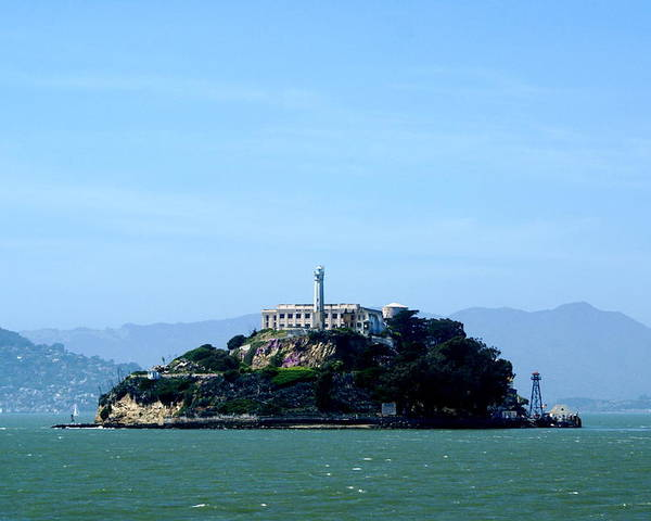 Historic Landmark Poster featuring the photograph Alcatraz Island by Sonja Anderson