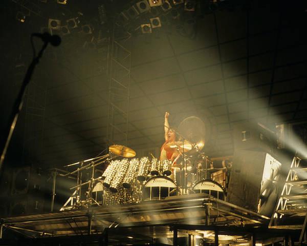 Alex Van Halen 1984 Poster By Rich Fuscia