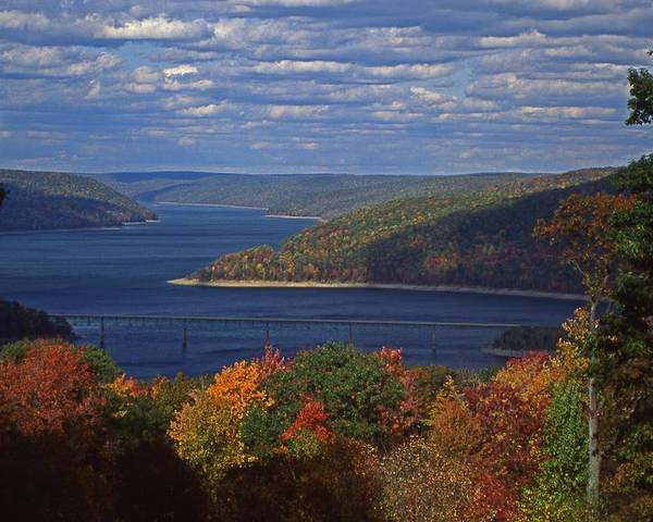 National Forests Poster featuring the photograph Allegheny National Forest Lake by Blair Seitz