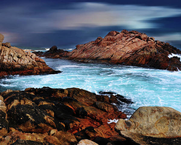 Landscapes Poster featuring the photograph Amazing Coast by Phill Petrovic