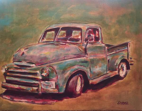 American Classic Poster featuring the painting American Classic by Kathy Stiber