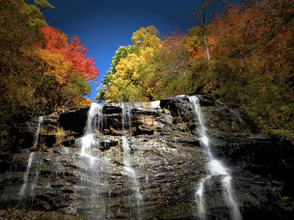 Amicalola Poster featuring the photograph Amicalola Falls by Dick Goodman
