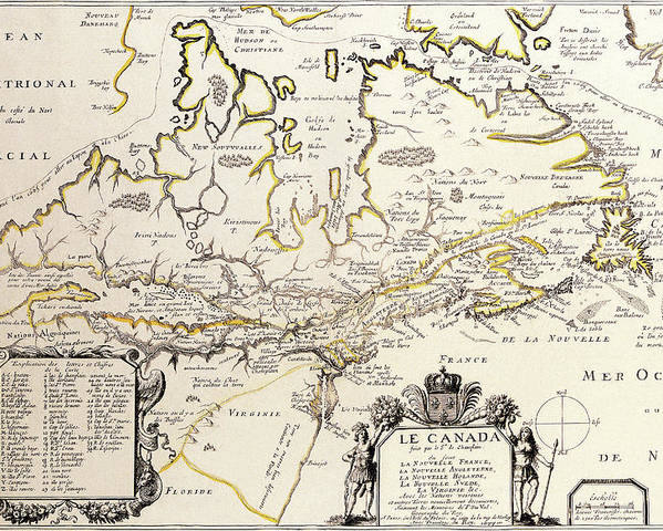 Antique Canada Map Antique Maps   Old Cartographic maps   Antique Map of Canada