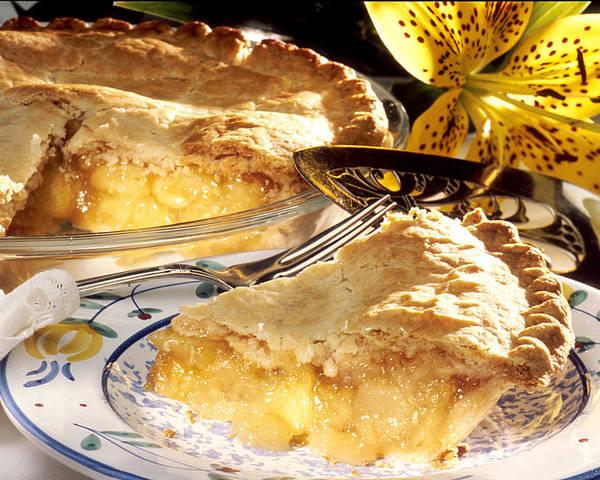 Apple Pie Poster featuring the photograph Apple Pie Dessert by PhotographyAssociates