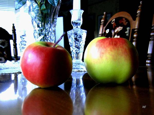 Apples Poster featuring the photograph Apples Still Life by Will Borden