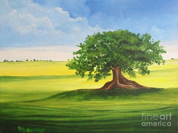 Alicia Maury Prints Poster featuring the painting Arbol De Ceiba by Alicia Maury