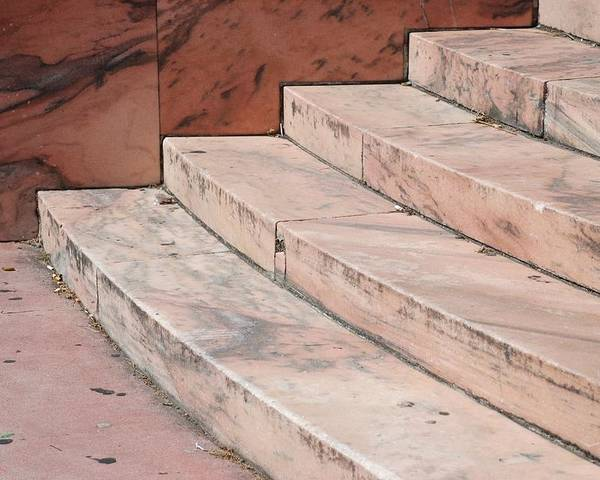 Architecture Poster featuring the photograph Art Deco Steps by Rob Hans