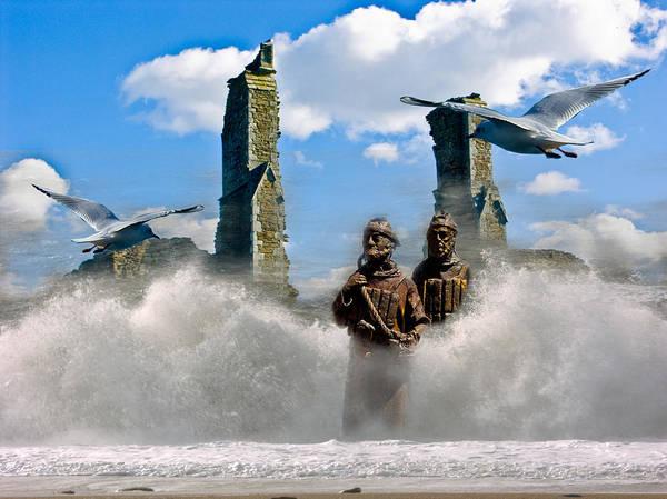 Atlantis Poster featuring the digital art Atlantis by Brian Roscorla