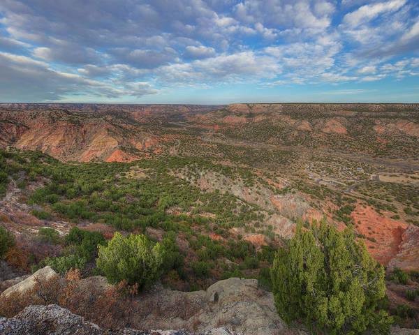 Palo Duro Canyon Poster featuring the photograph Autumn In Palo Duro Canyon, Texas 1 by Rob Greebon