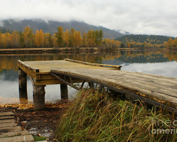 River Poster featuring the photograph Autumn On The River by Idaho Scenic Images Linda Lantzy