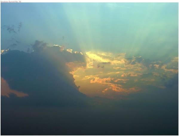 Sunset Poster featuring the photograph Azure by John Geck