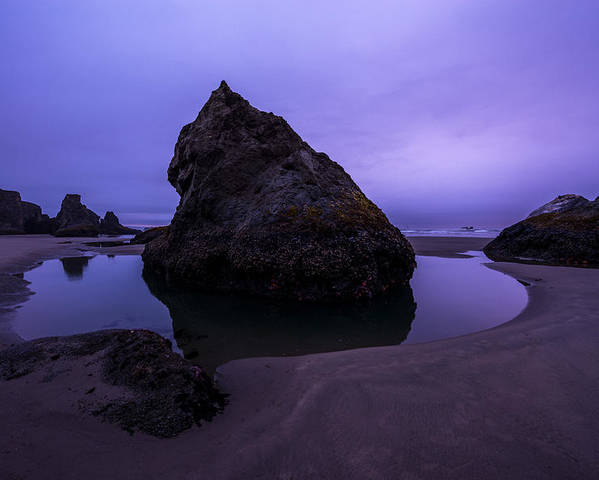 Oregon Poster featuring the photograph Bandon Beach by Dustin LeFevre