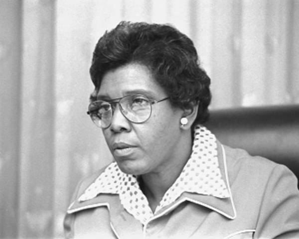 1970s Candids Poster featuring the photograph Barbara Jordan 1936-1996, African by Everett