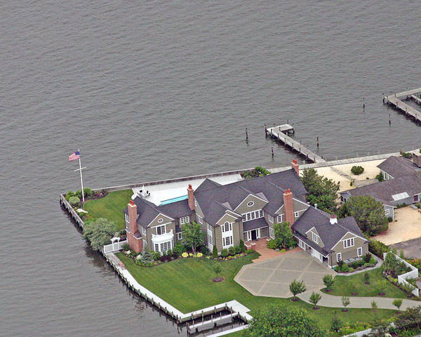 Bay House Poster featuring the photograph Barnegat Bay House Bay Head New Jersey by Duncan Pearson