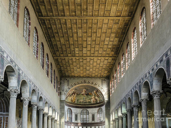 Apse Poster featuring the photograph Basilica Of Saint Sabina by John Greim