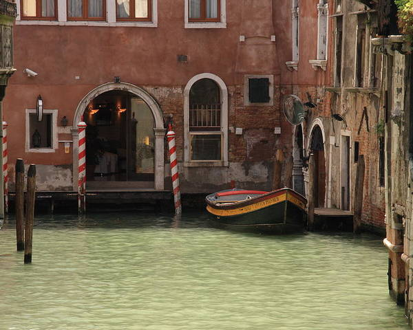 Venice Poster featuring the photograph Basin in Venice by Michael Henderson