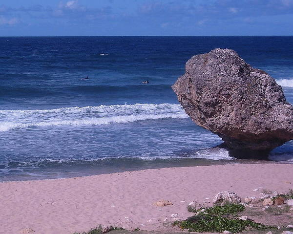 Caribbean Poster featuring the photograph Bathsheba Beach Barbados by Arvin Miner