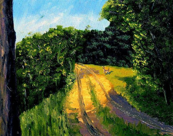 Plein Air Poster featuring the painting Bcsp6 by Stan Hamilton