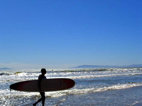 Beach Poster featuring the photograph Beach Boy 2 by Robin Hernandez