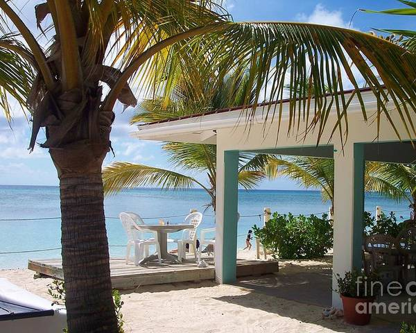 Beach Poster featuring the photograph Beach In Grand Turk by Debbi Granruth