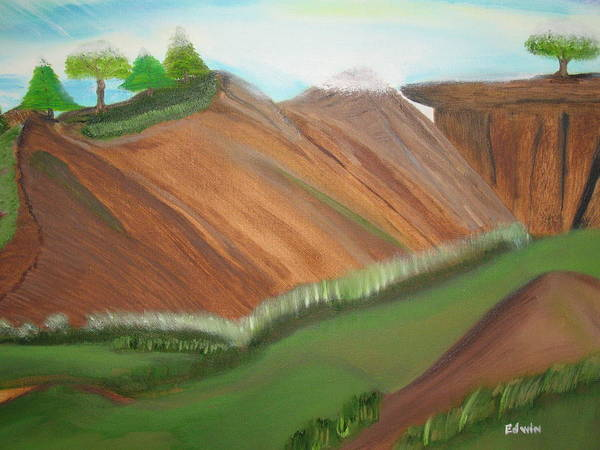 Landscapes Poster featuring the painting Beaulah Land by Edwin Long