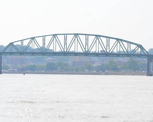 Norbert F Beckey Bridge Poster featuring the photograph Beckey Bridge by Tammy Mutka