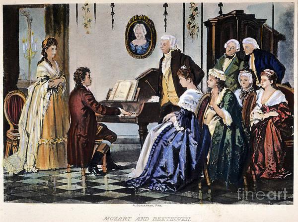 Beethoven & Mozart, 1787 Poster