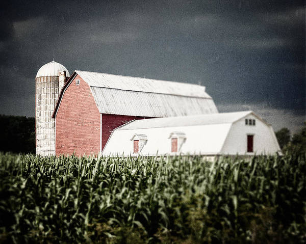 Barn Poster featuring the photograph Before The Storm by Lisa Russo