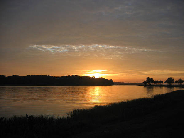 Sunrise-sunset Photographs Poster featuring the photograph Beginning Light by Frederic Kohli