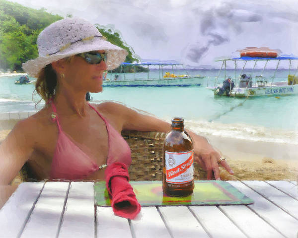 Woman Poster featuring the photograph Bella Vista by Kevin Bair
