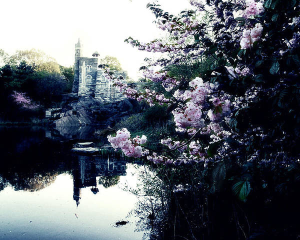New York Poster featuring the photograph Belvedere Castle by Ariane Moshayedi