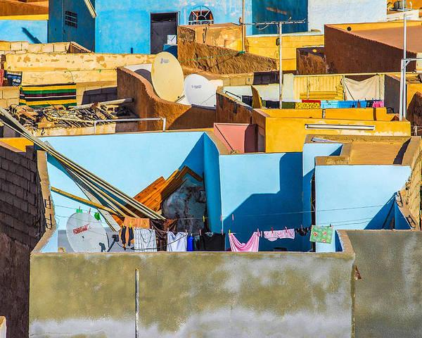 Judith Barath Art Poster featuring the photograph Beni Isguen, Algeria by Judith Barath