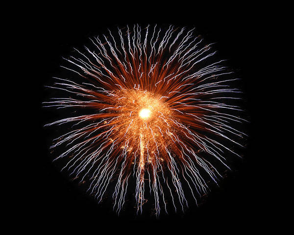 Fireworks Poster featuring the photograph Big Bang by Gary Gunderson