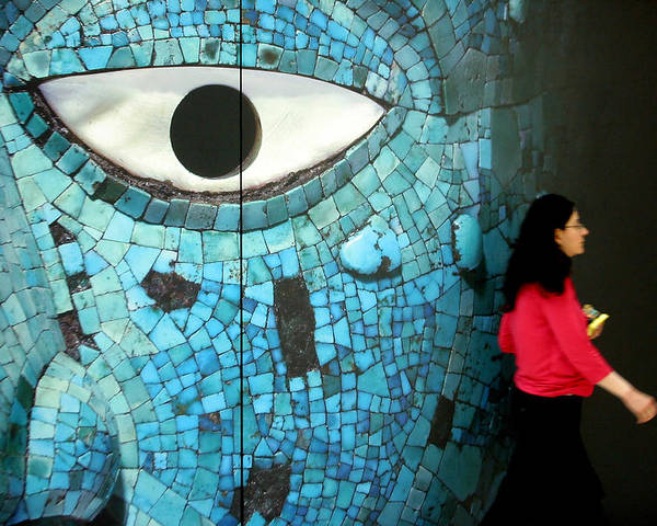 Eye Poster featuring the photograph Big Brother by Jez C Self