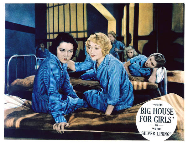 1930s Movies Poster featuring the photograph Big House For Girls Aka The Silver by Everett