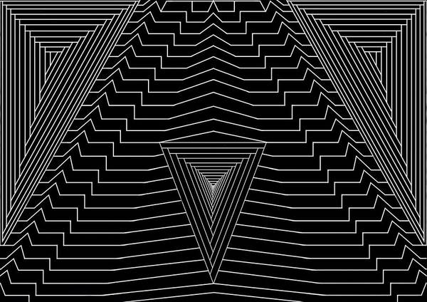Se-metric Poster featuring the digital art Black Diamond by Christopher Rowlands
