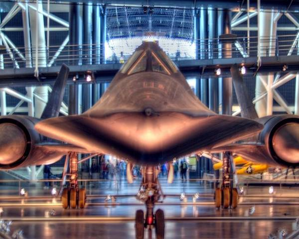 Sr-71 Poster featuring the photograph Blackbird by Mitch Cat