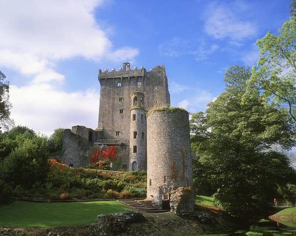 Background People Poster featuring the photograph Blarney Castle, Co Cork, Ireland by The Irish Image Collection