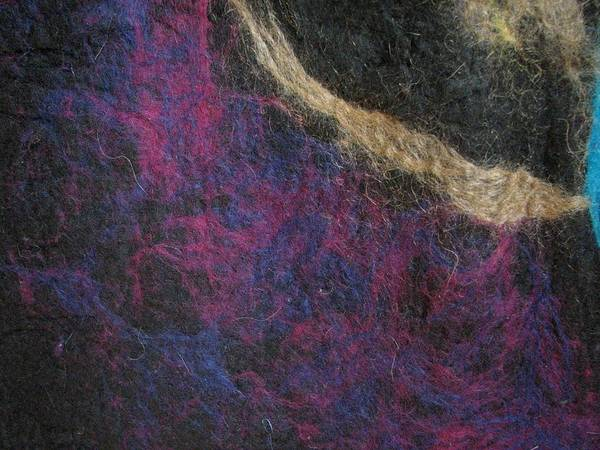 Felt Poster featuring the tapestry - textile Blessed Boundlessness by Kseniya Nelasova