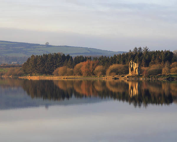 Lake Poster featuring the photograph Blessington Lakes by Phil Crean