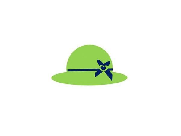 Cute Hat Poster featuring the digital art Blue And Green Hat Art by Joanne Elizabeth