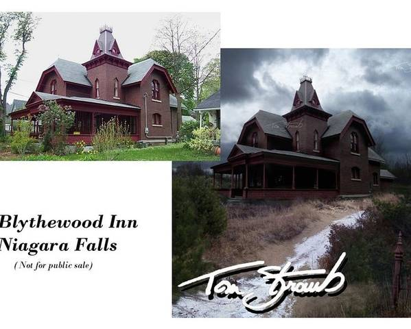 Blythewood Poster featuring the photograph Blythewood Inn by Tom Straub