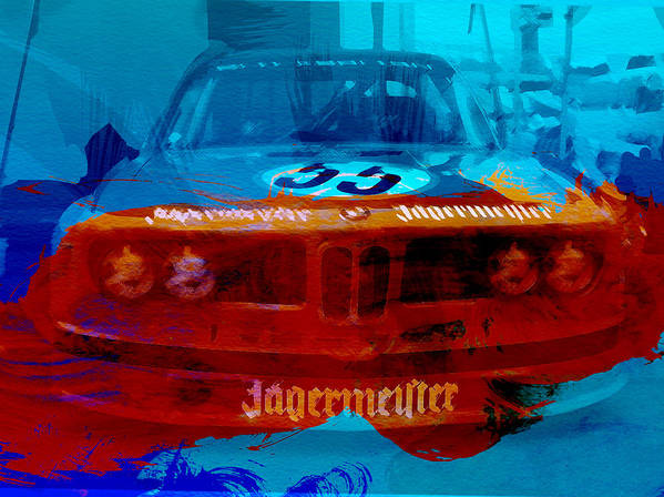 Poster featuring the photograph Bmw Jagermeister by Naxart Studio