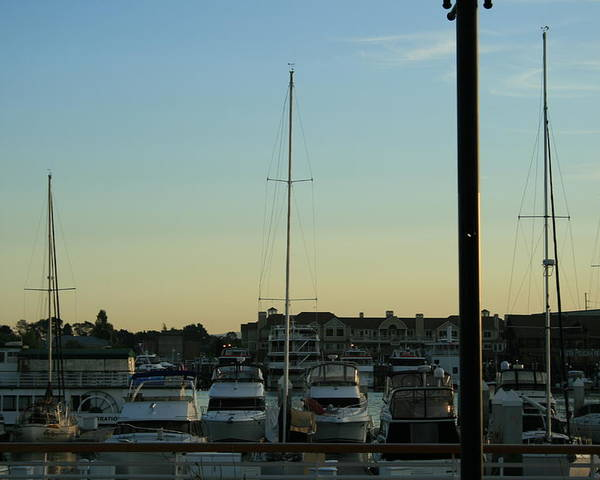 Boat Poster featuring the photograph Boat Harbor by Joshua Sunday
